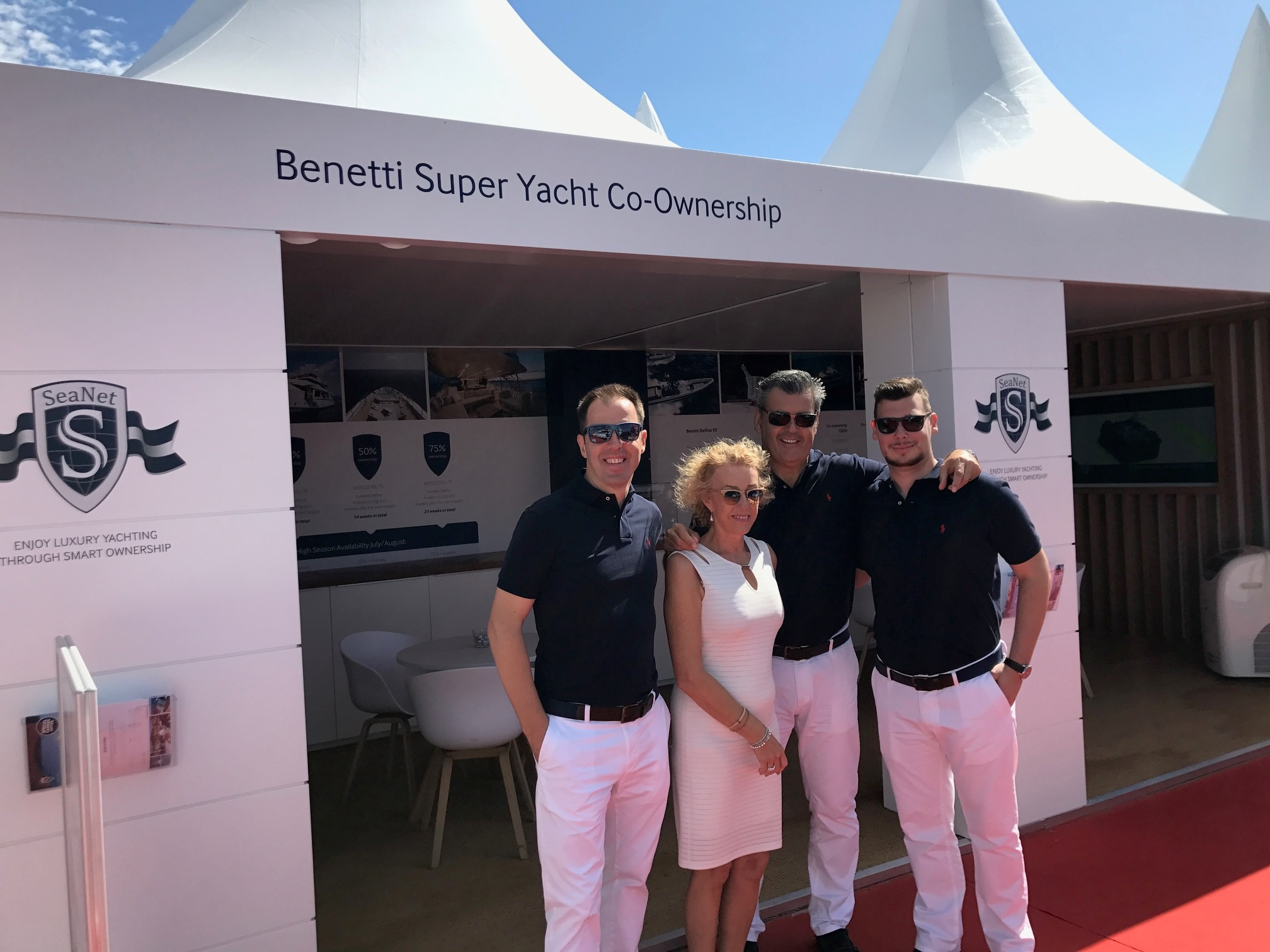 SeaNet at Cannes Yachting Festival